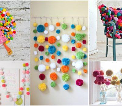 13 DIY Pom Pom Decor Ideas That Are Cuteness Overload