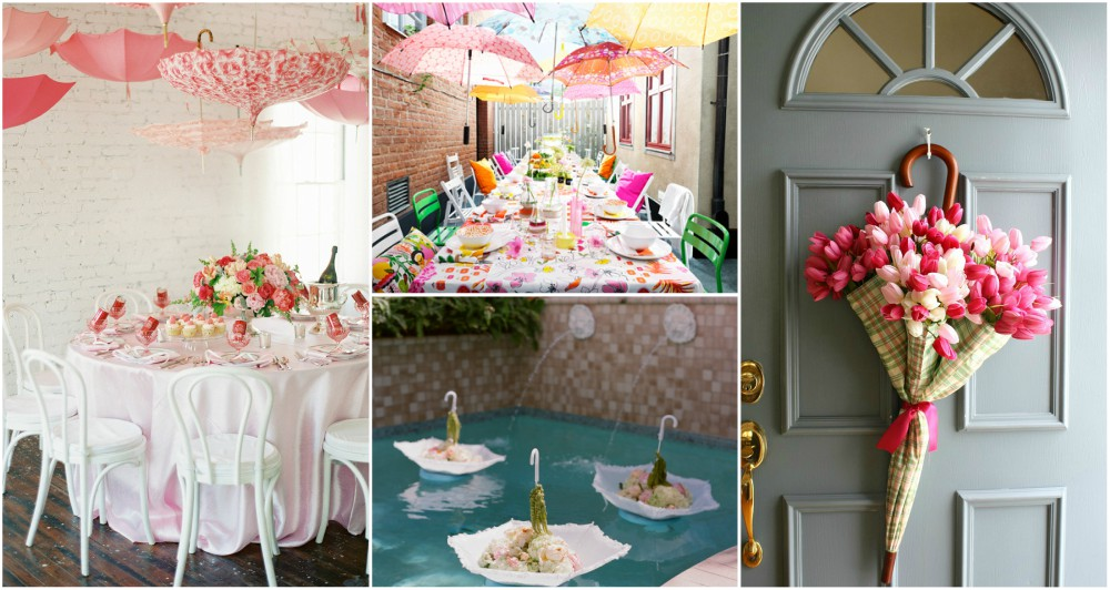 decorated umbrellas for weddings the best diy umbrella decor ideas that you will 3345
