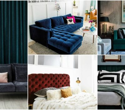 Tips For Implementing Velvet Interior To Make Your Home Appear Luxurious