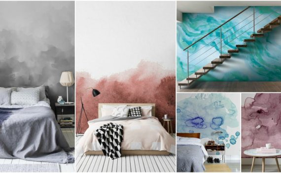 Watercolor Wall Is An Excellent Choice For Any Room