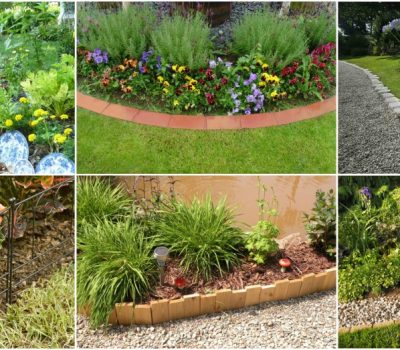 The Easiest Garden Edging Ideas That Are Budget Friendly