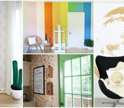 How To Do It: 4 Easy DIY Statement Wall Ideas That Anyone Can Make