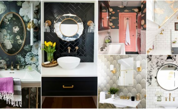 The Most Popular Bathroom Wall Trends That Make A Statement