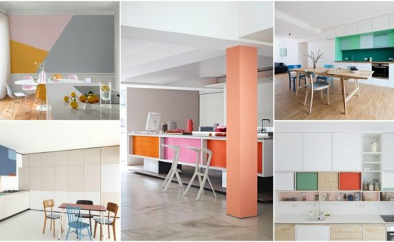 Color Block Kitchen :Designer's Tips On Playing With Color And Achieving The Perfect Look