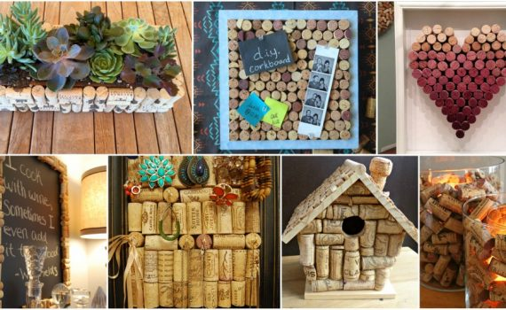 Easy And Cheap DIY Cork Decor For Your Home