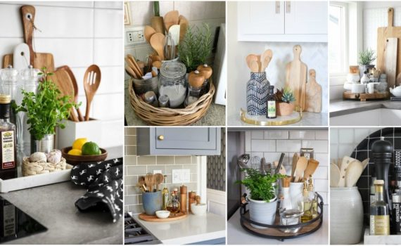7 Kitchen Counter Styling Tips To Make It Look Stylish And Expensive