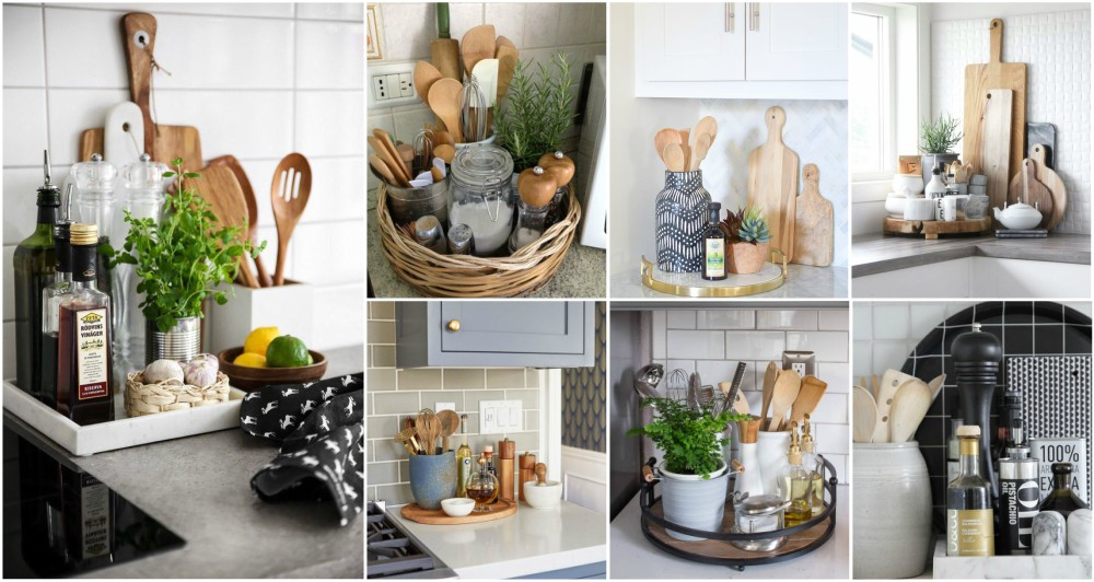 7 Kitchen Counter Styling Tips To Make It Look Stylish And