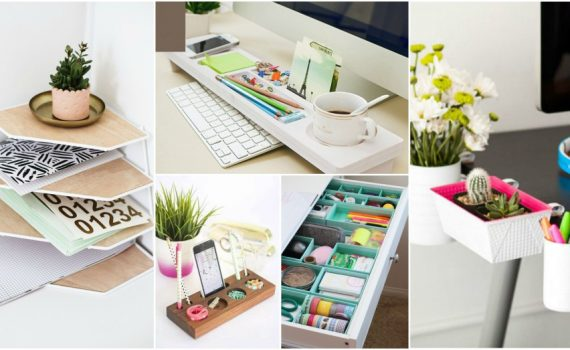 Smart Desk Organization Ideas To Help You Keep It Tidy All The Time