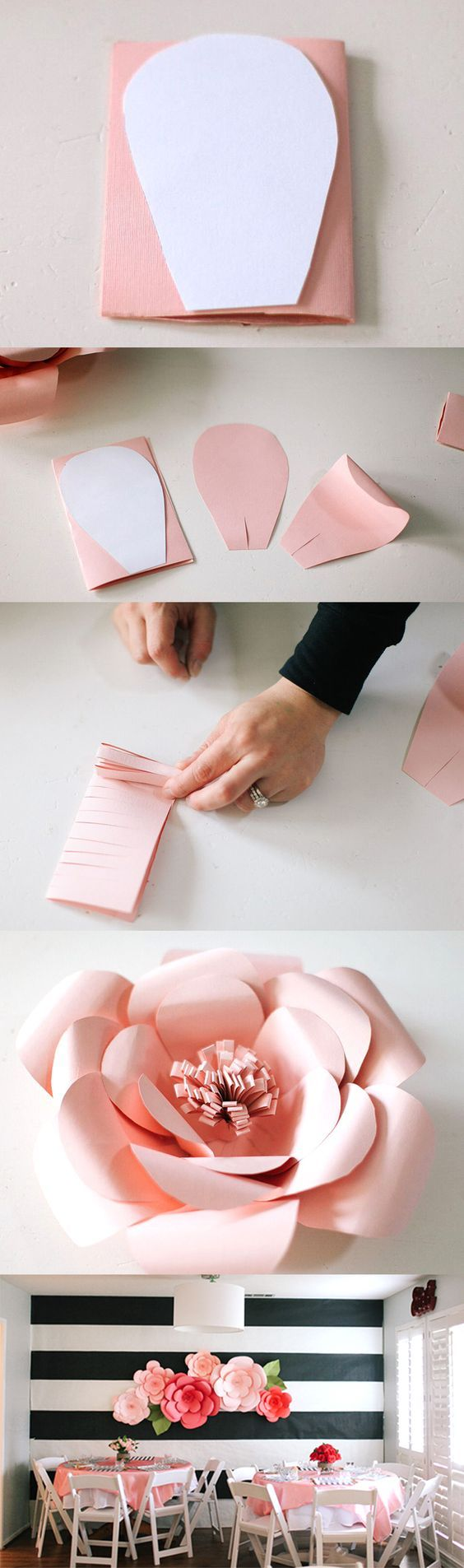 How To Make Flower From Crepe Paper Video Flowers Healthy