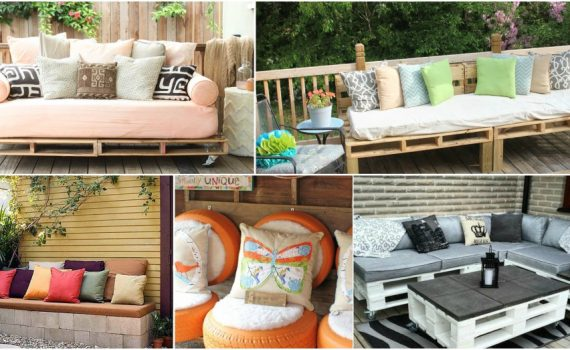 Creative And Budget-Friendly DIY Garden Seating To Enjoy The Summer