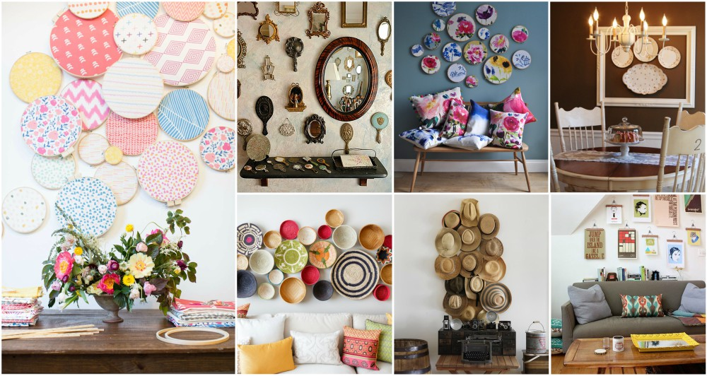 easy diy wall decor ideas to make any boring wall look fun