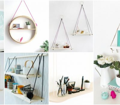 DIY Hanging Shelf Ideas To Get The Most Of Your Small Home