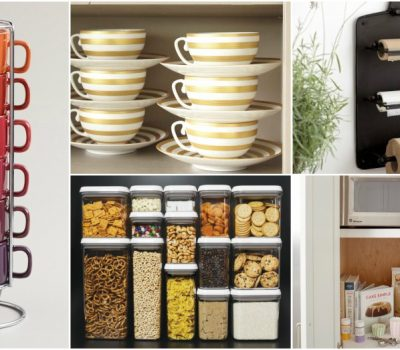 14 Small Kitchen Storage Hacks That Will Save You Some Precious Space