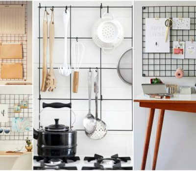 DIY Metal Grid Ideas For Organizing Your Home In A Fun Way