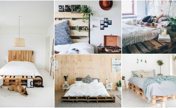 Genius DIY Pallet Bed Ideas For A Bedroom On A Budget