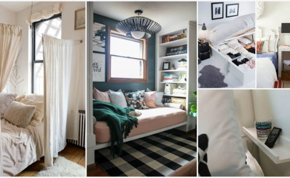 Small Bedroom Tips That Will Save You Some Precious Space