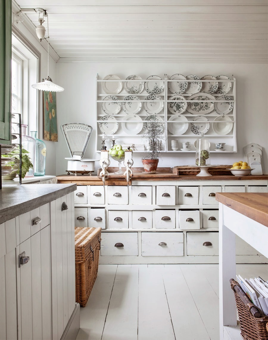 White Wood Kitchen Ideas. white and wood is the trendiest ...