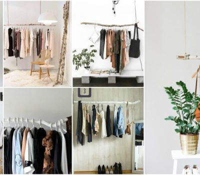 DIY Branch Clothes Rack Is The Best Idea For Your Closet