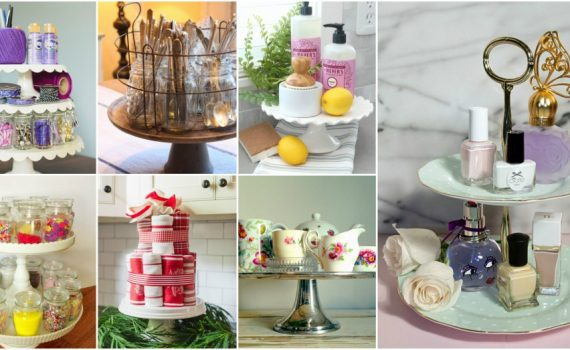 Creative And Helpful Cake Stand Uses For Every Corner Of Your Home