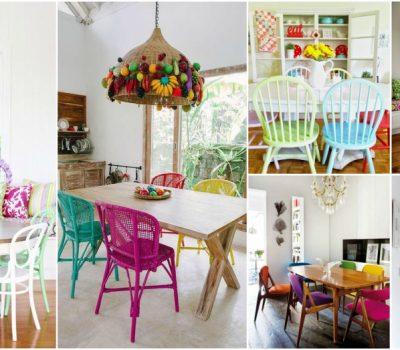 Multi Color Chairs Styling Tips To Bring Fun Into Your  Dining Room