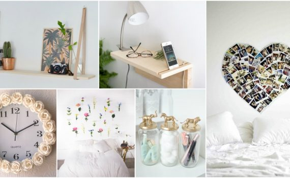 Fascinating DIY Bedroom Decor That Won't Clutter Your Small Room