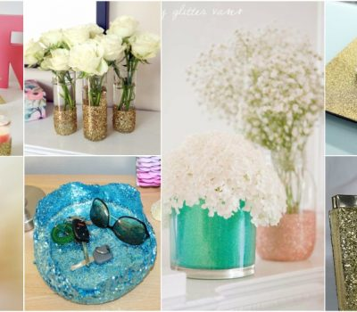 DIY Glitter Projects To Make Ordinary Things More Glamorous