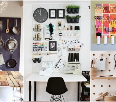 Brilliant And Cheap Pegboard Organization Ideas To Keep Any Room Tidy