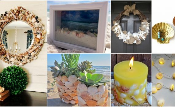 15 Easy And Budget-Friendly DIY Seashell Decor Ideas For This Summer