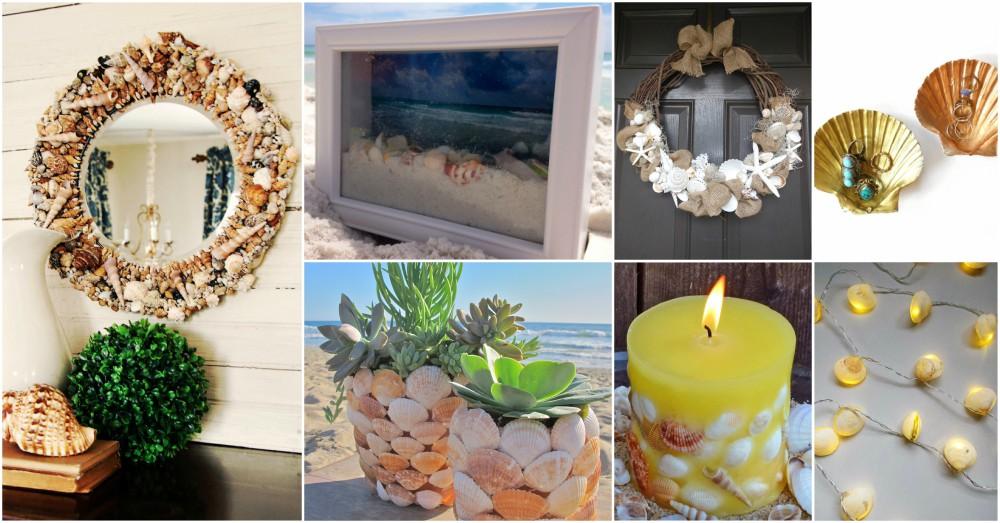 15 Easy And Budget-Friendly DIY Seashell Decor Ideas For ...