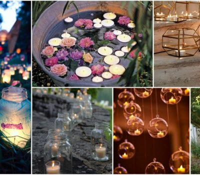 Easy And Cheap Garden Lighting Ideas Made With Candles