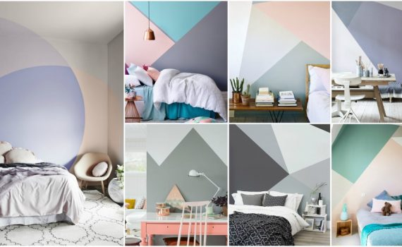 Geometric Wall Ideas To Create Eye-Catching Accent Wall