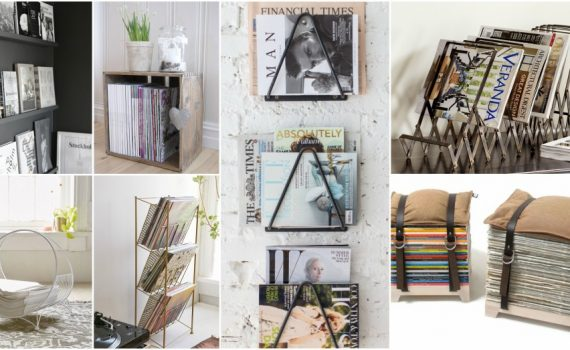 Magazine Storage Ideas To Display Your Collection In A Stylish Way