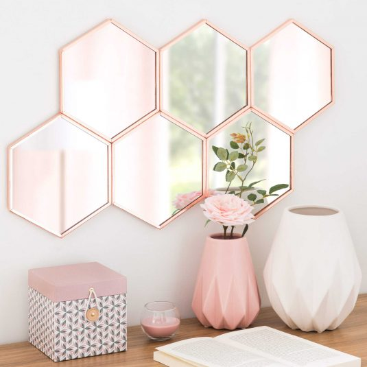Rose Gold Decor For Bedroom That Every Lady Will Fall In