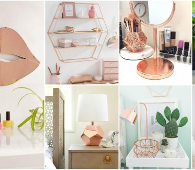 Rose Gold Decor For Bedroom That Every Lady Will Fall In Love With