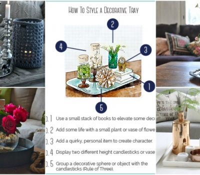 Tray Styling Is A Well Kept Interior Designers' Secret That Does Wonders