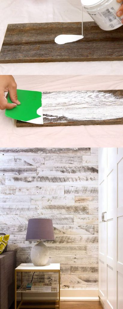 Interior Design Tips How To Create Whitewashed Wood To Add