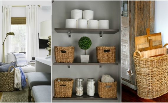 Cheap Basket Organization Ideas That Are Totally Genius