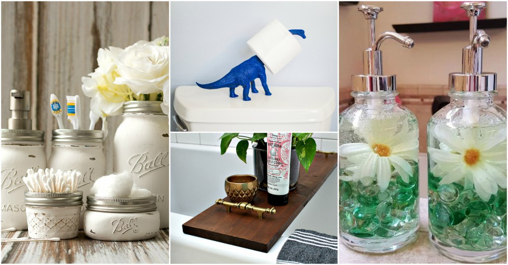 Diy Bathroom Decor Ideas That Anyone Can Make