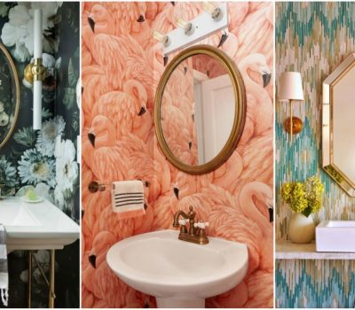 Eye-Catching Bathroom Wallpaper Ideas To Break Down The Boring Whiteness