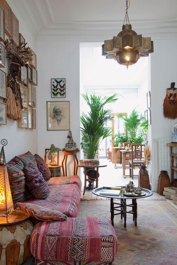 How to decorate a bohemian living room in 5 easy steps - How to decorate room ...