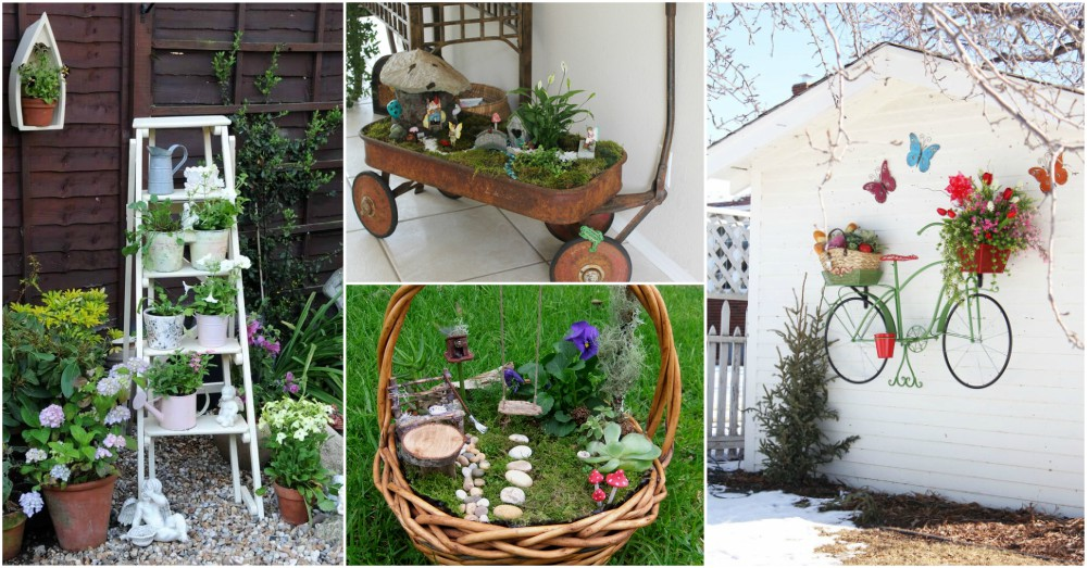 Diy Cheap Garden Decor To Bring A Whole New Look