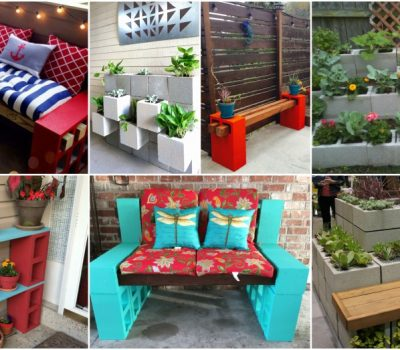 Cheap And Easy DIY Cinder Block Projects For Your Outdoor Space