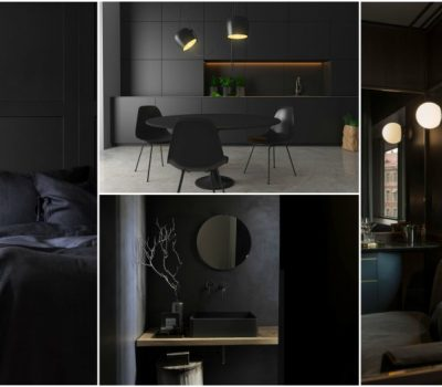 Tips For Creating Dramatic Dark Interiors That Look And Feel Comfortable
