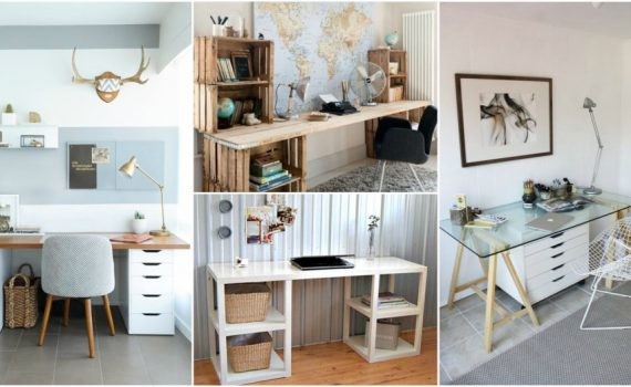 DIY Desk Ideas That Are So Stylish And Easy To Make