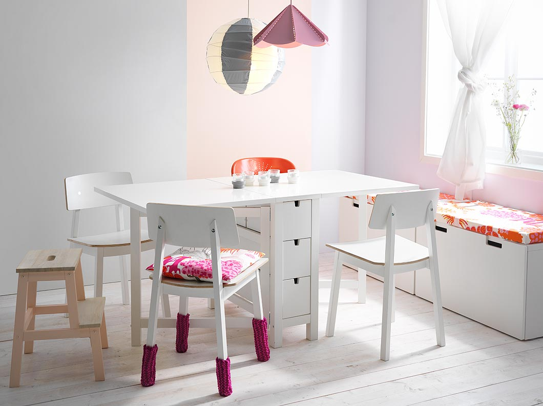 Expandable Dining Table For Small Spaces