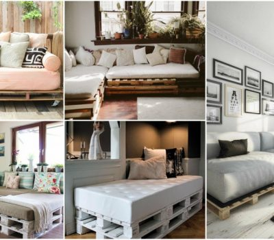 DIY Pallet Sofa Ideas For Living Room On A Budget
