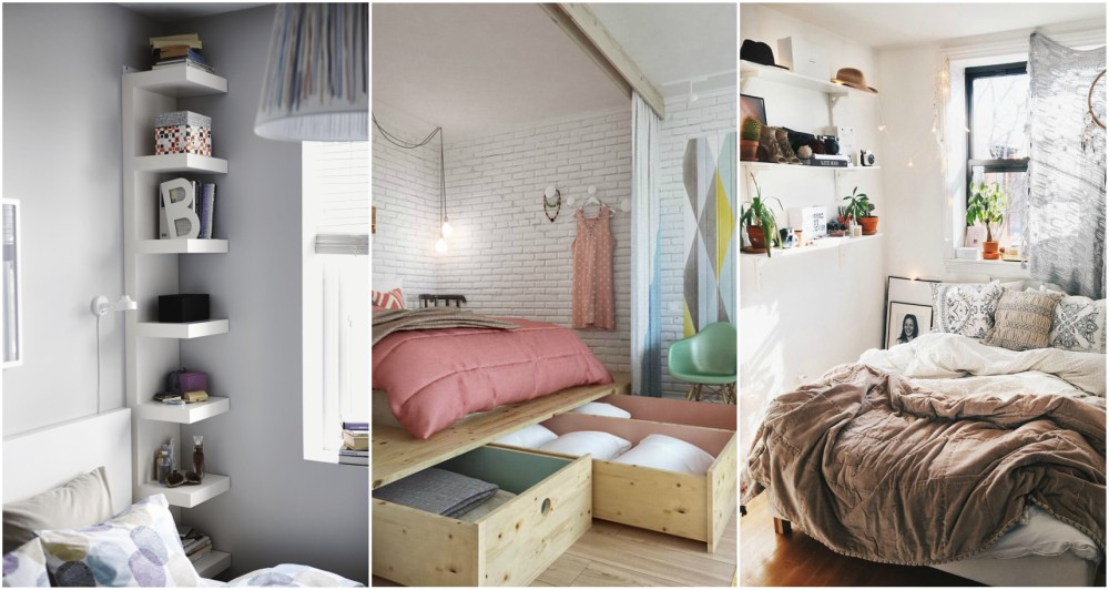 Small Space Decorating Tricks: Small Bedroom Tricks For Maximizing The Space