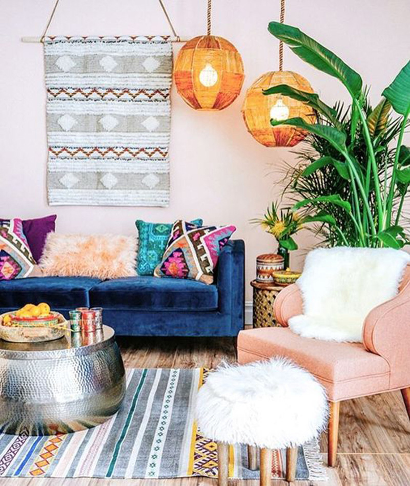 Boho Chic Interior Designs To Bring The Hippie Vibe In A Modern Way