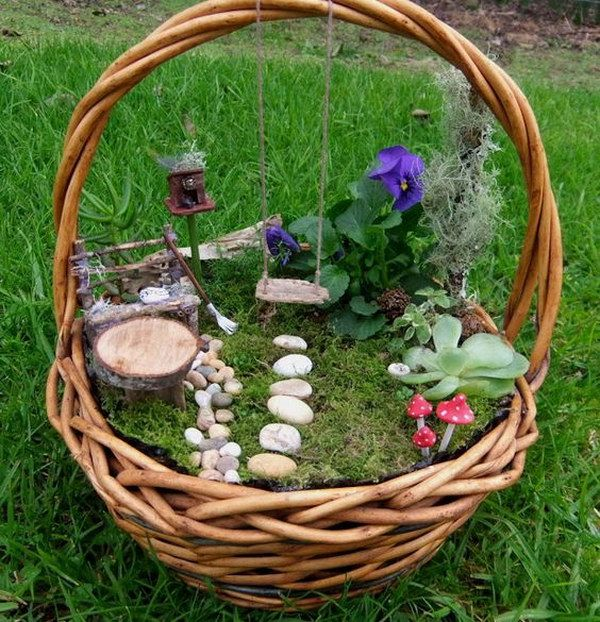Awesome diy fairy garden ideas that anyone can make see also tiny teacup garden ideas workwithnaturefo