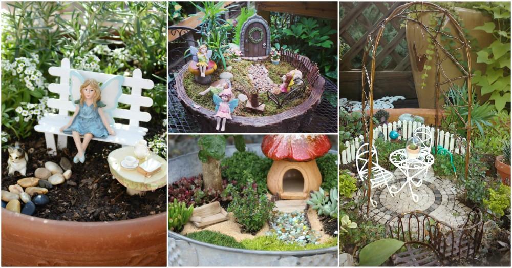 Gnome Garden: Awesome DIY Fairy Garden Ideas That Anyone Can Make